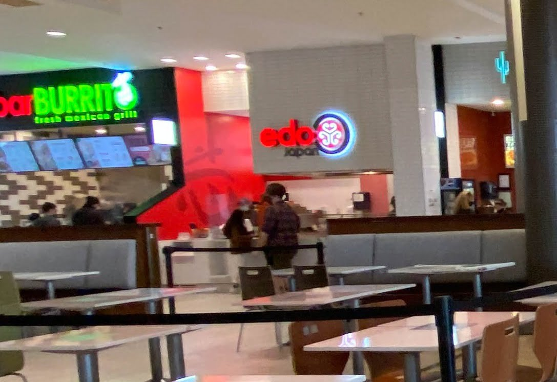 Edo Japan in Food Court at SouthCentre Mall in Calgary