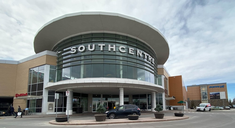 SouthCentre Mall Exterior