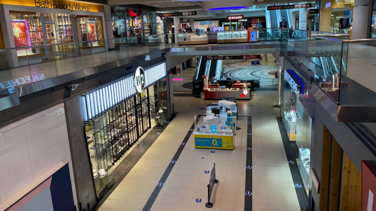 Essential Shopping only at CF Toronto Eaton Centre