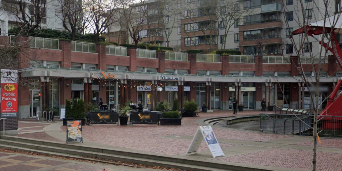 FYidoctors location on Davie Street in Vancouver