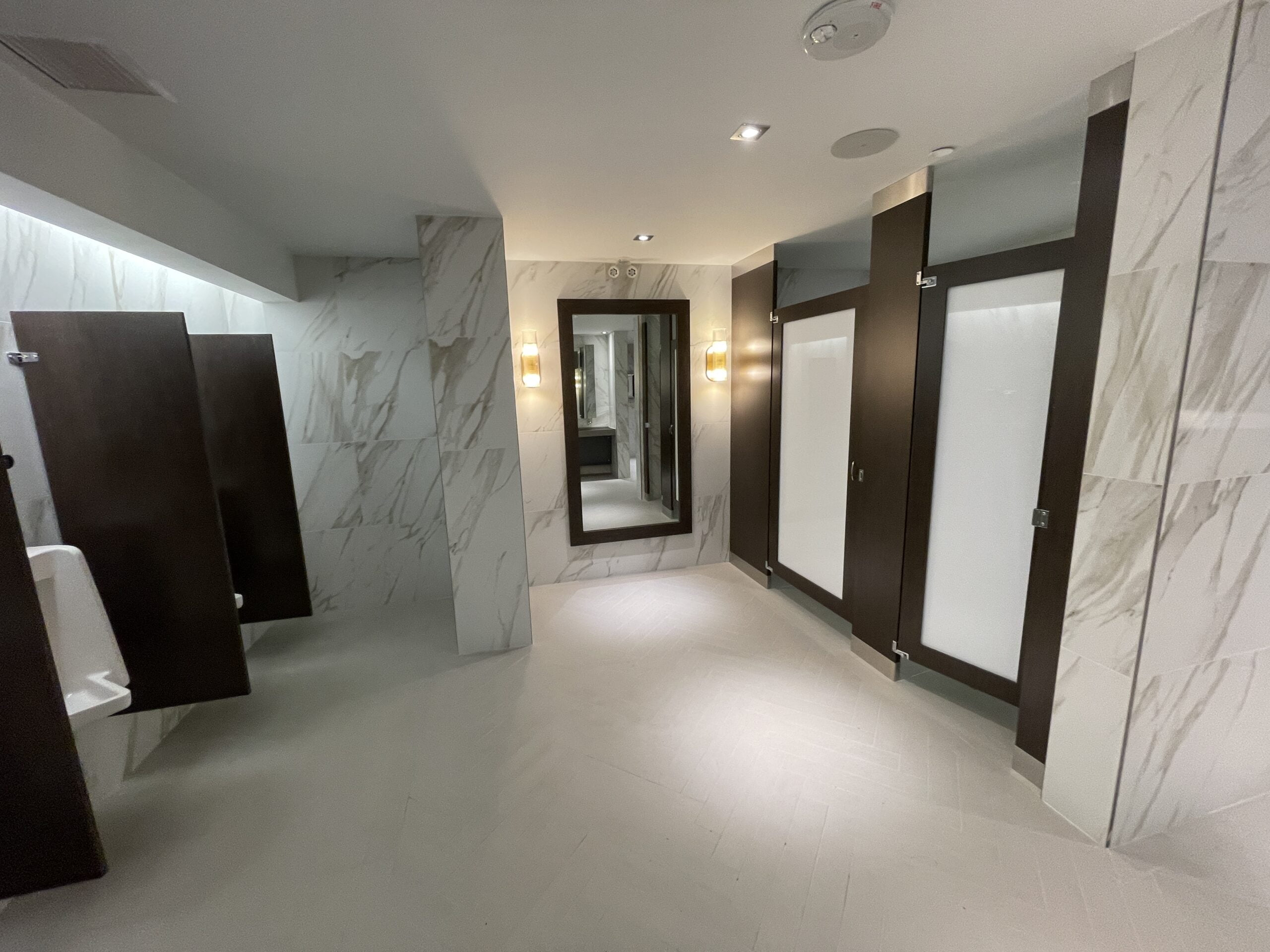 Washrooms at Cineplex VIP at The Amazing Brentwood