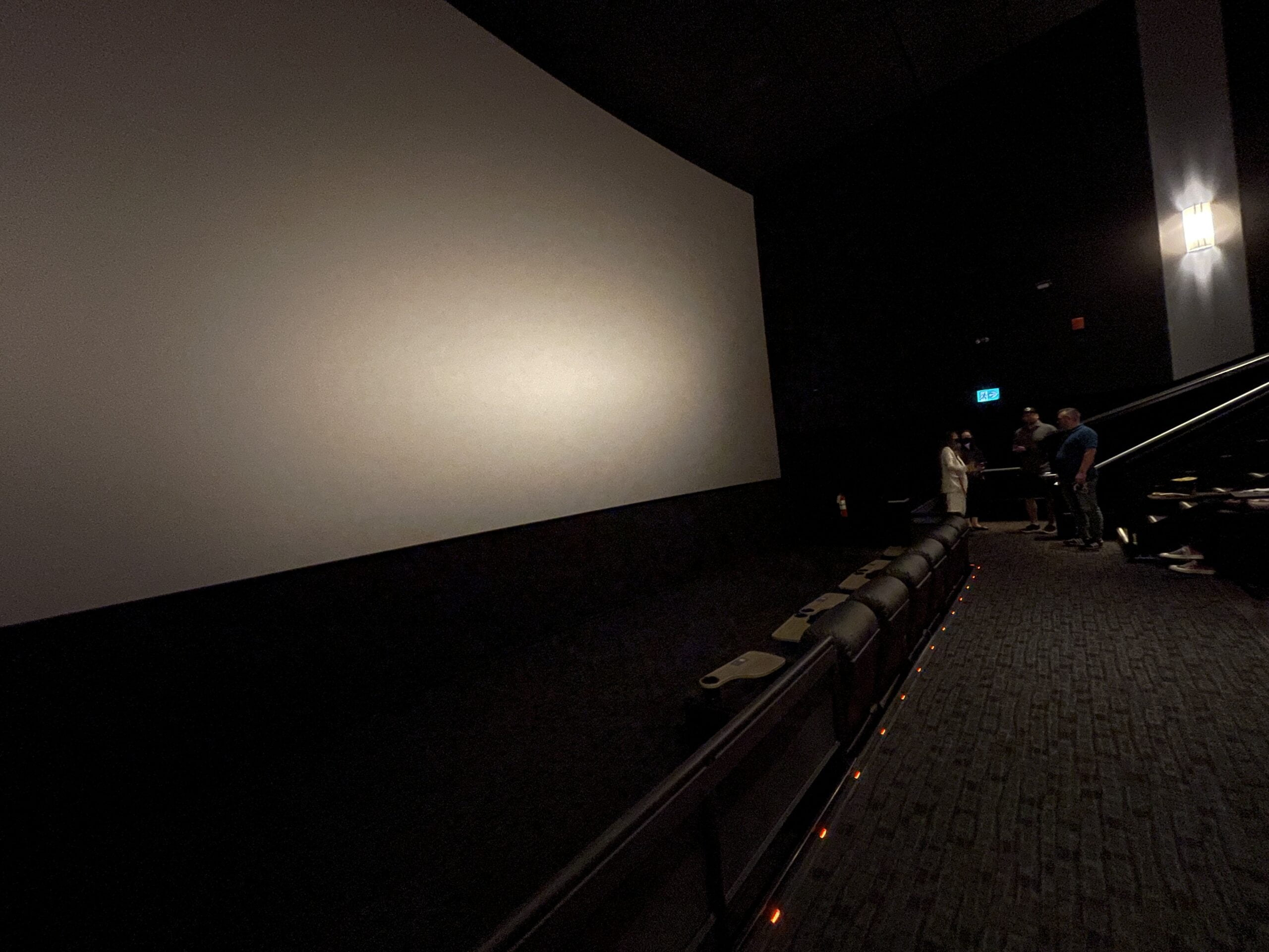 Screen at Cineplex VIP at The Amazing Brentwood
