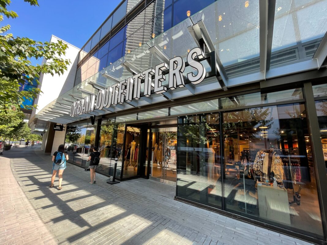 Urban Outfitters at The Amazing Brentwood in Burnaby BC (July 2021).