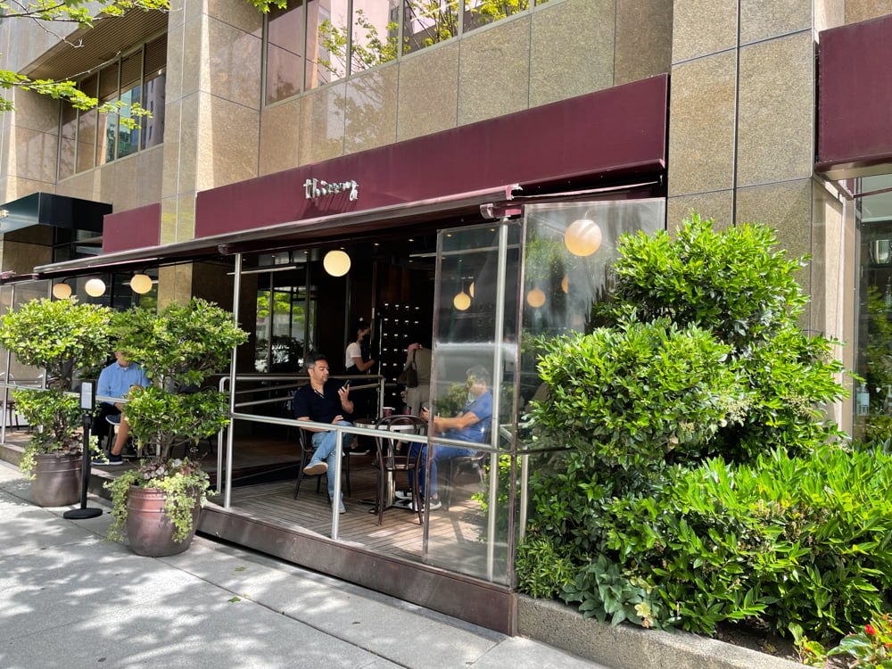 Thierry Chocolates on Alberni Street in Vancouver (June 2021)