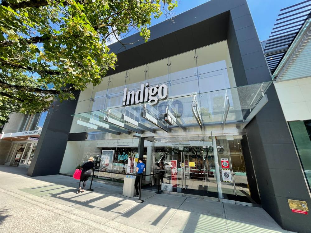 Indigo on Robson Street (June 2021)