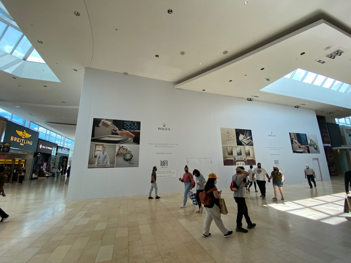 Raffi Construction at Yorkdale Shopping Centre