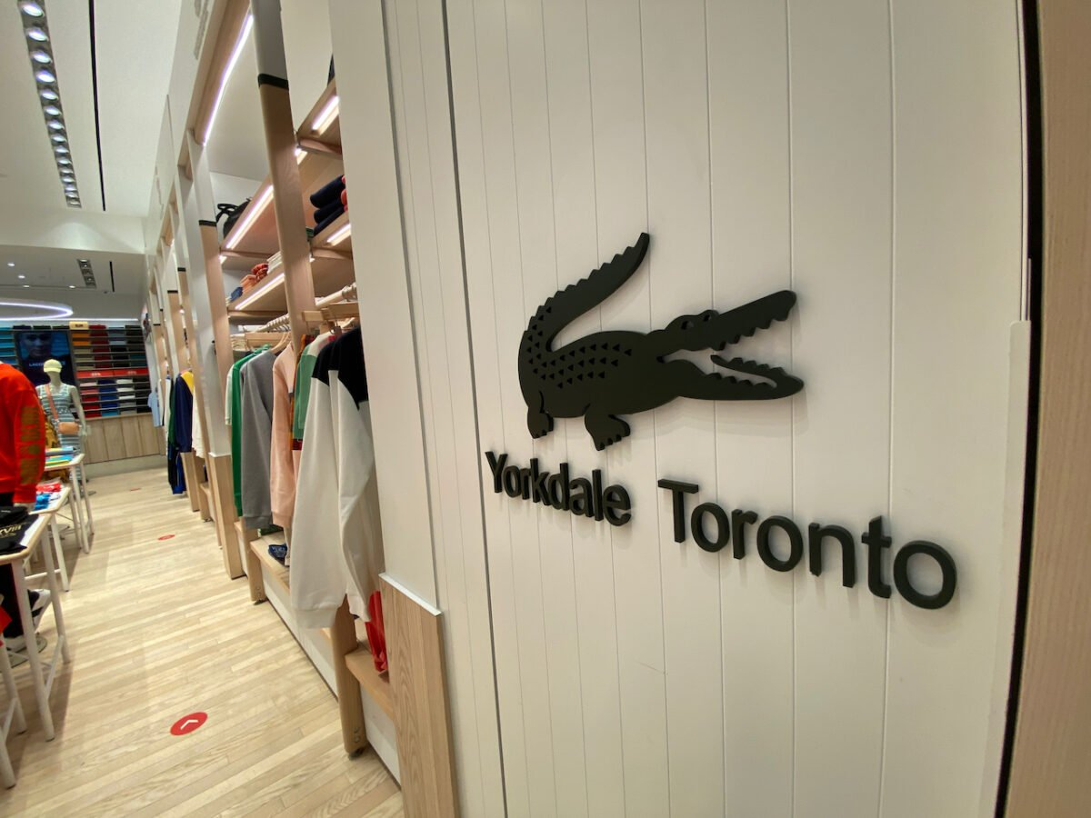 Lacoste at Yorkdale Shopping Centre