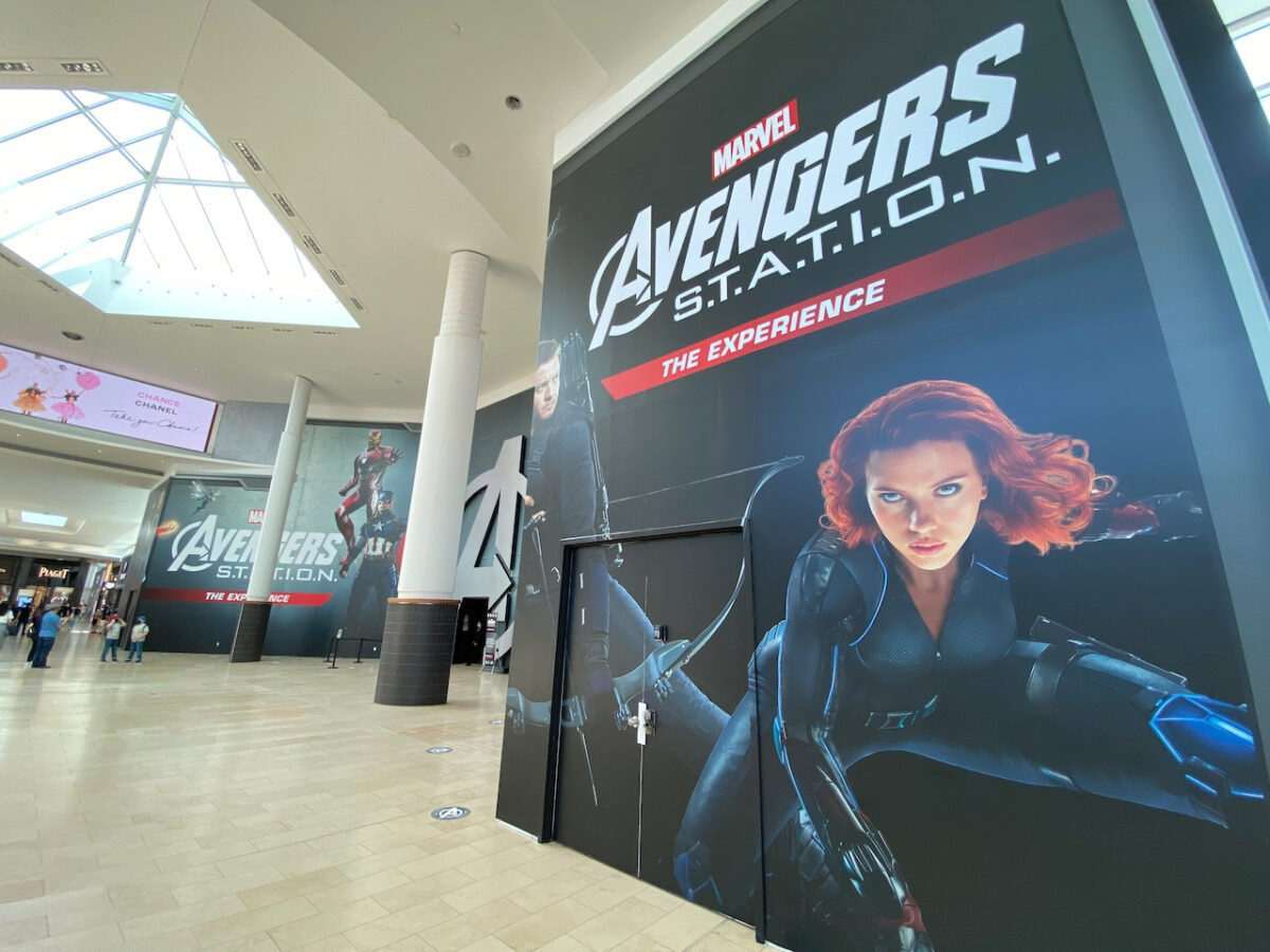 Avengers Station at Yorkdale Shopping Centre