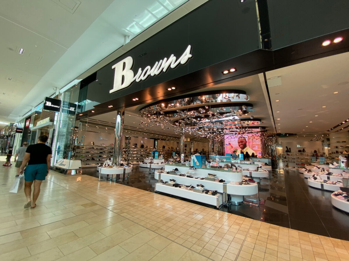 Browns at Yorkdale Shopping Centre