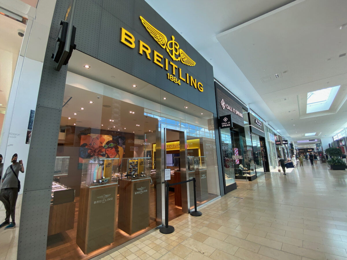 Breitling at Yorkdale Shopping Centre