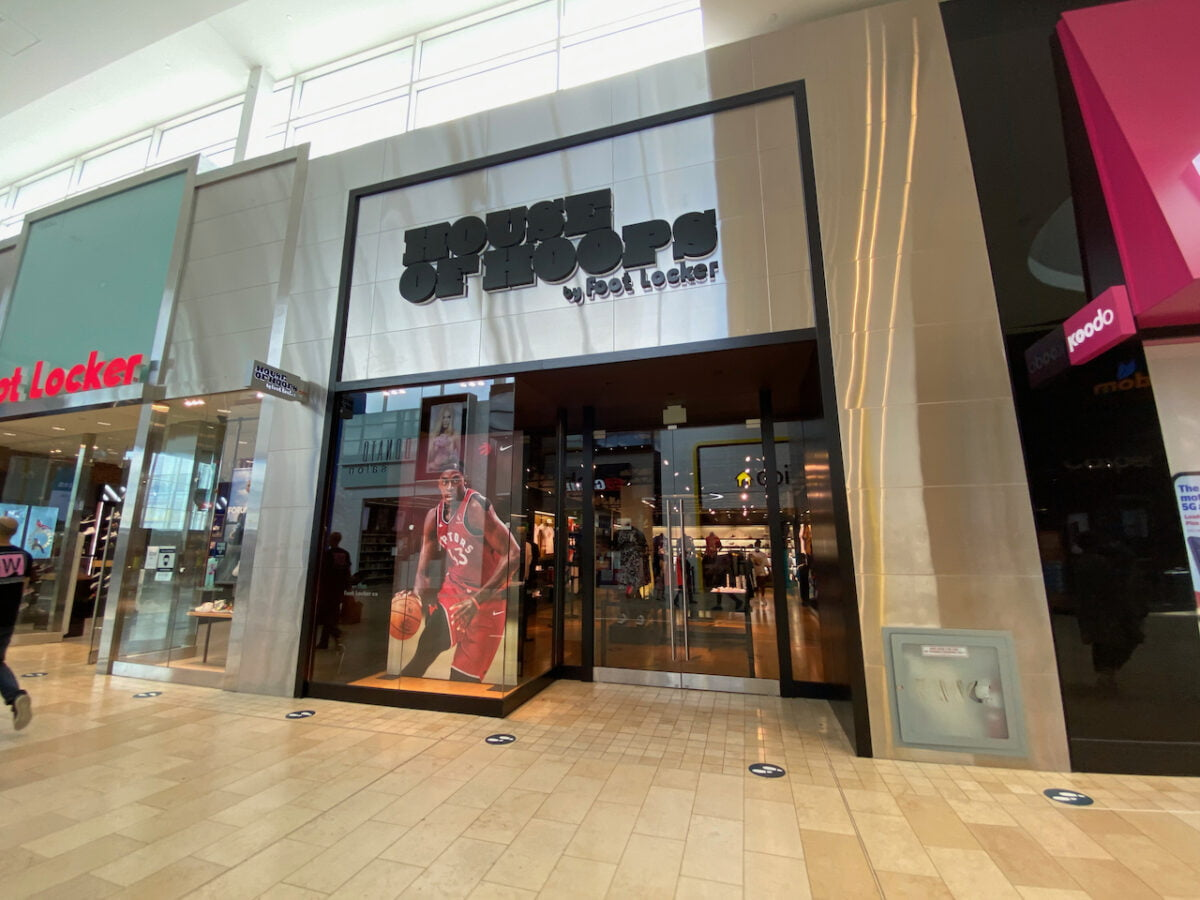 House of Hoops at Yorkdale Shopping Centre