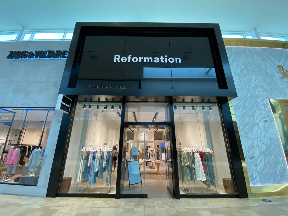 Reformation at Yorkdale Shopping Centre