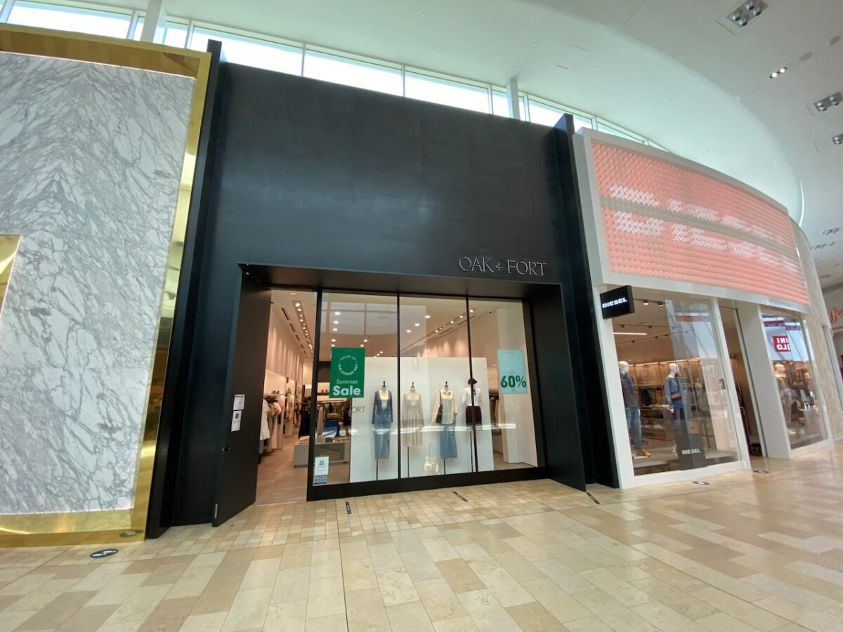 Oak + Fort at Yorkdale Shopping Centre