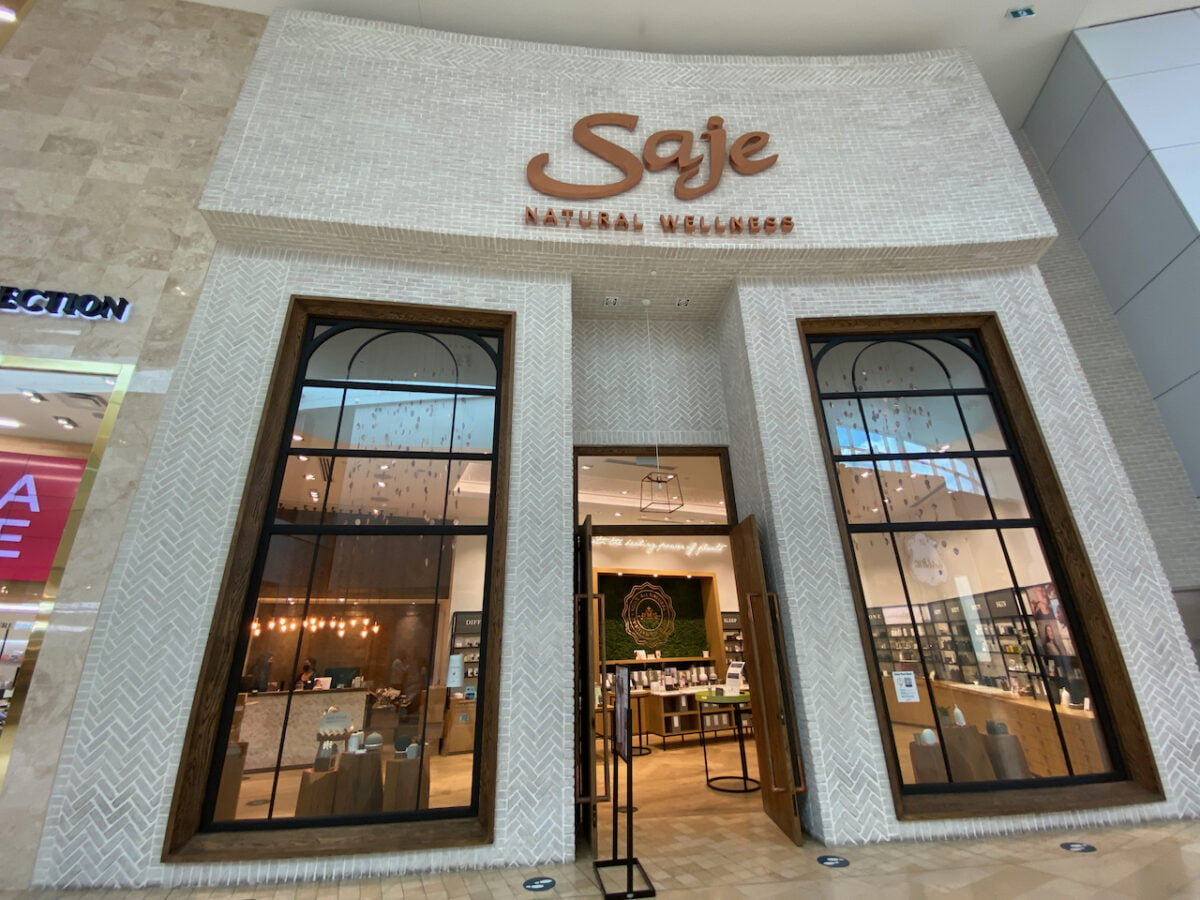 Saje at Yorkdale Shopping Centre
