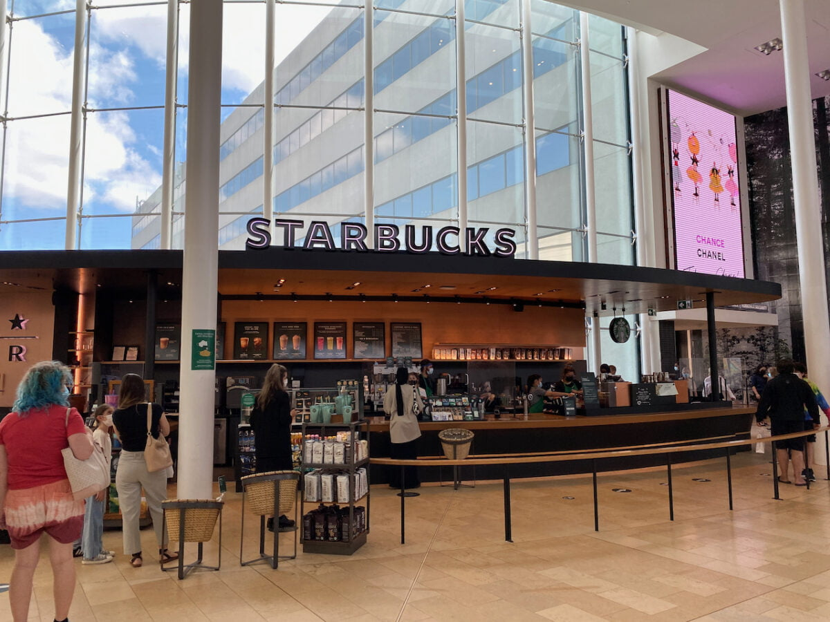 Starbucks at Yorkdale Shopping Centre