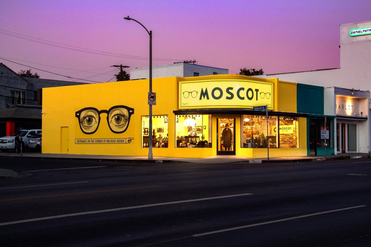 MOSCOT on Melrose