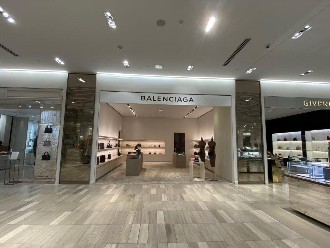 Balenciaga Boutique in Saks Fifth Avenue at CF Toronto Eaton Centre