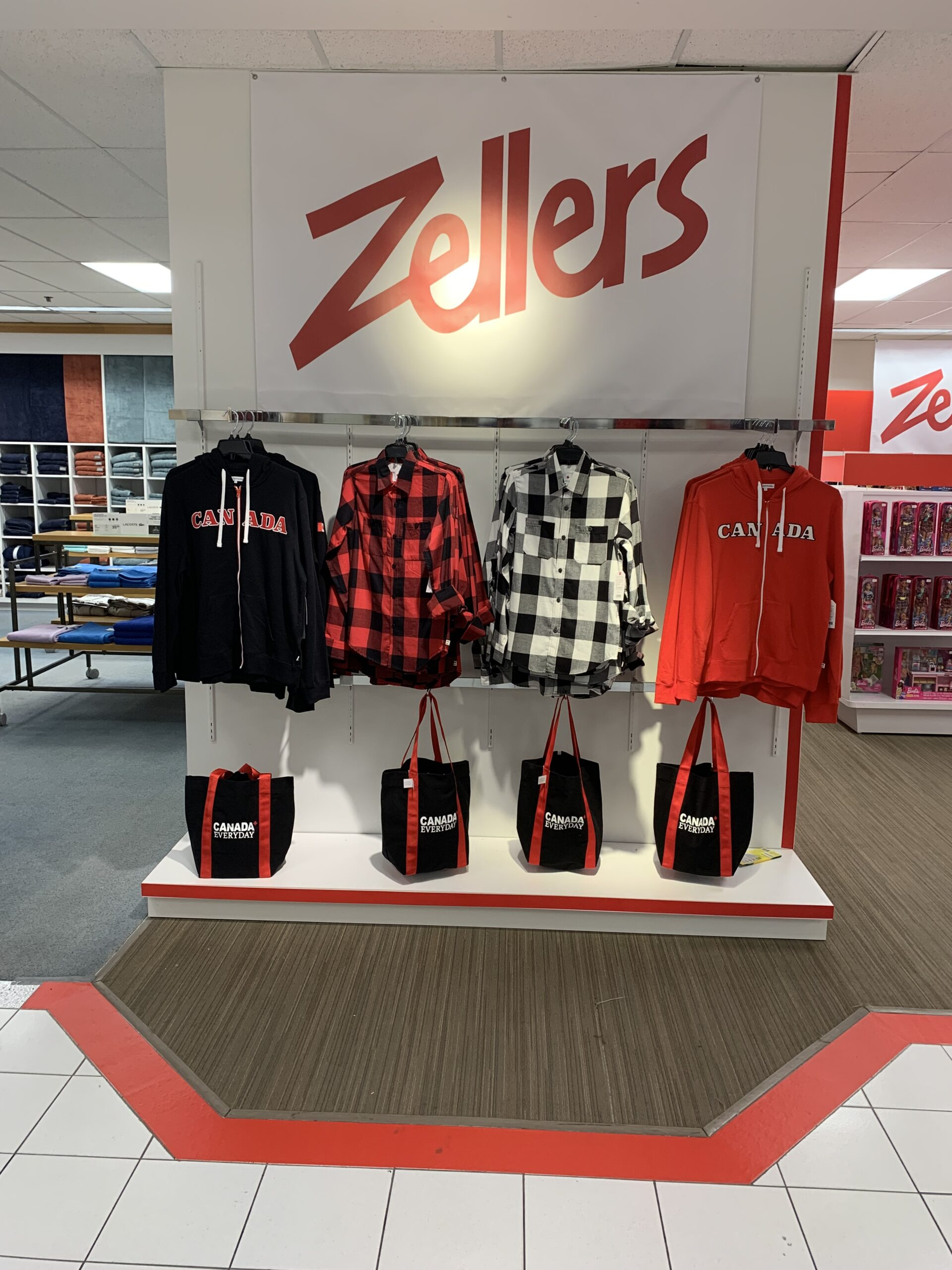 Zellers at Hudson's Bay Burlington Mall