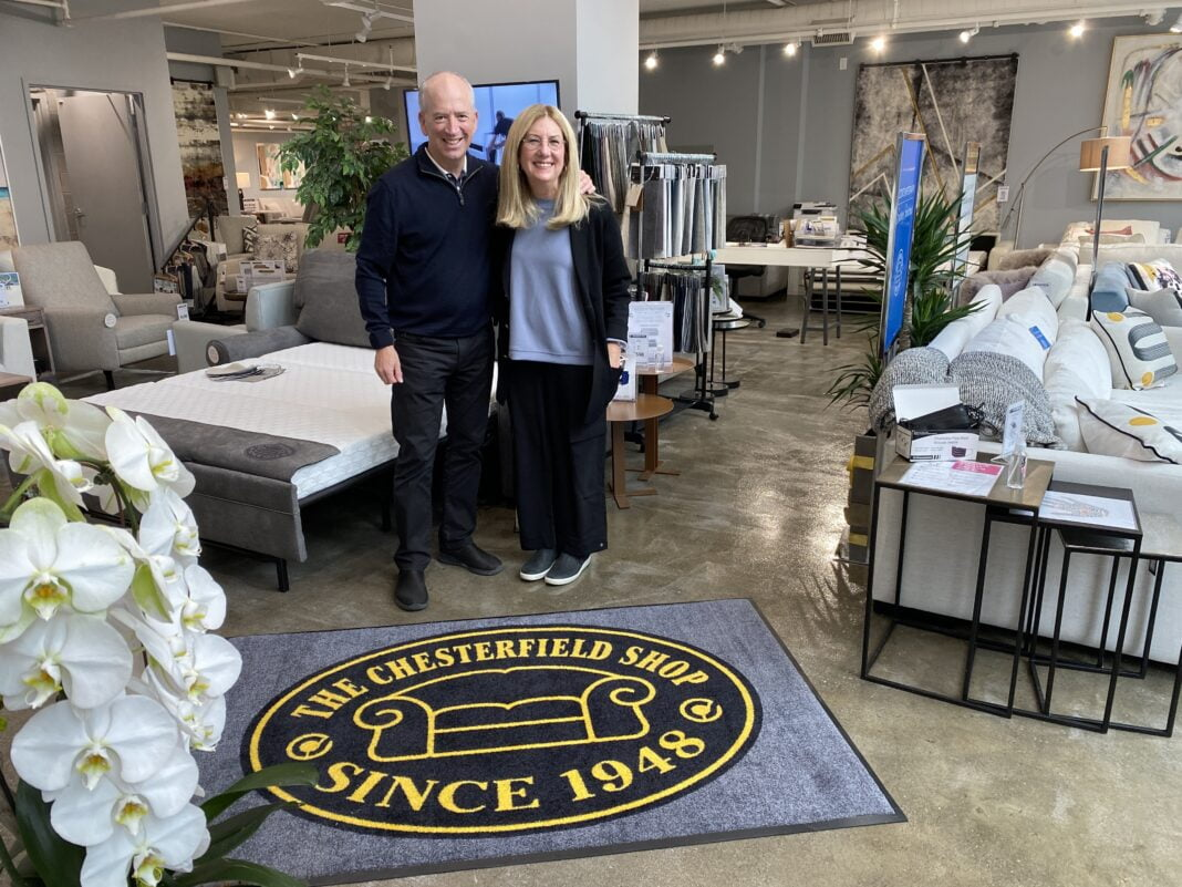 Pam and Steve Freedman, The Chesterfield Shop