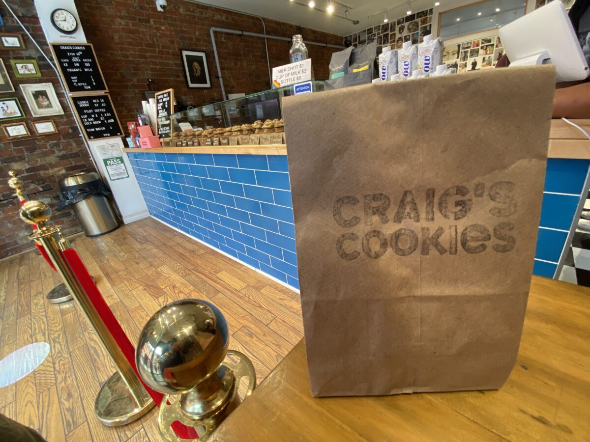 Craig's Cookies on Church Street