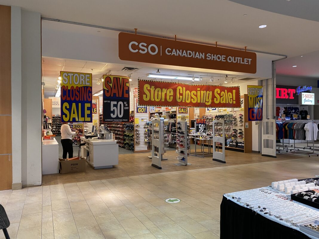 Canadian Shoe Outlet at Gerrard Square Shopping Centre