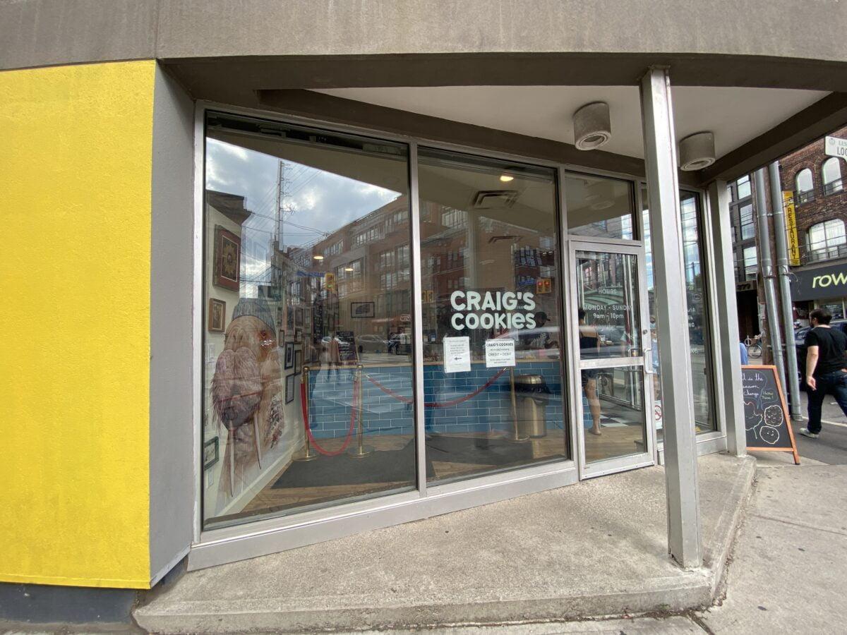 Craig's Cookies on Queen Street