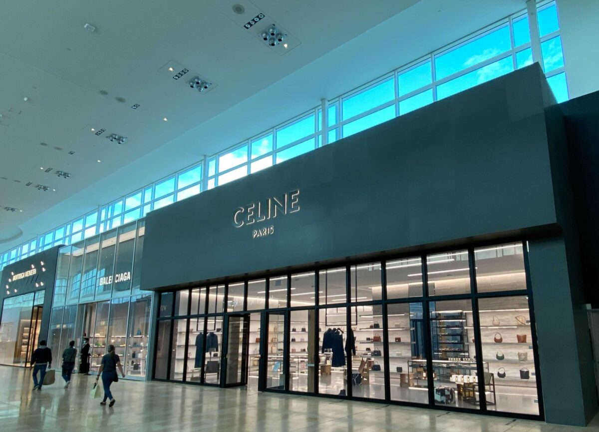 Celine at Toronto's Yorkdale Shopping Centre