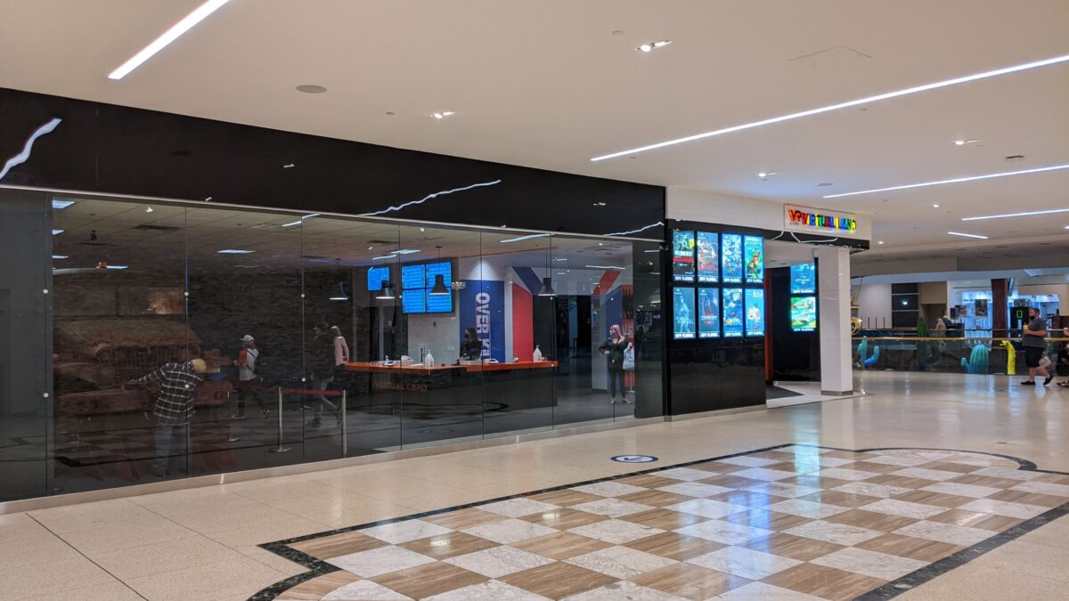 Virtual Land at West Edmonton Mall