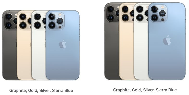 """""""iPhone 13 Pro"""" and """"iPhone 13 Pro Max"""""""