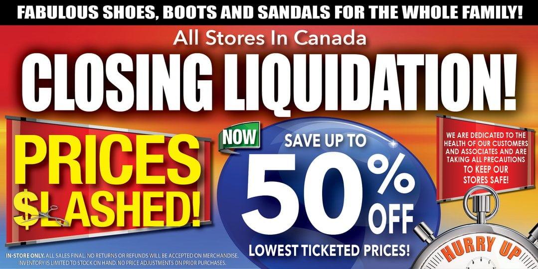 Canadian Shoe Outlet Website