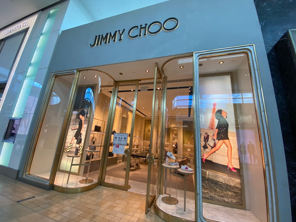 Jimmy Choo at Yorkdale. Photo by Dustin Fuhs