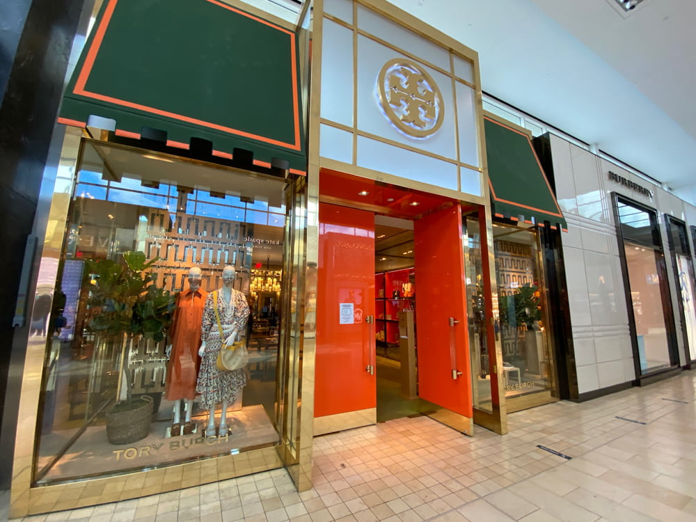 Tory Burch at Yorkdale. Photo: Dustin Fuhs