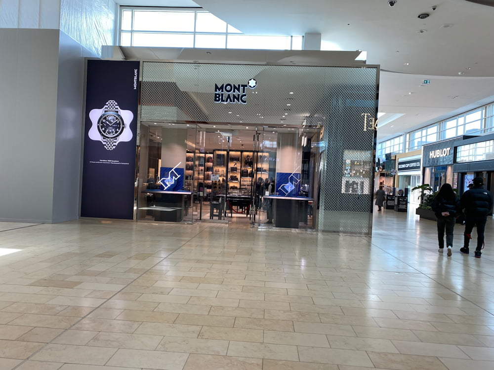 Mont Blanc at Yorkdale. Photo by Dustin Fuhs