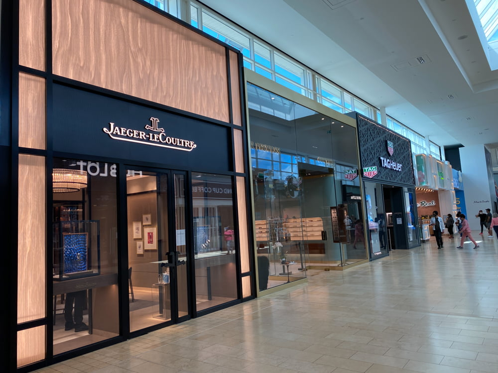 Jaeger-LeCoultre at Yorkdale. Photo: Dustin Fuhs