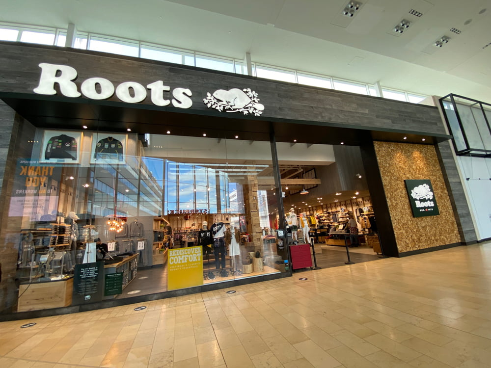 Roots at Yorkdale (March 2021)