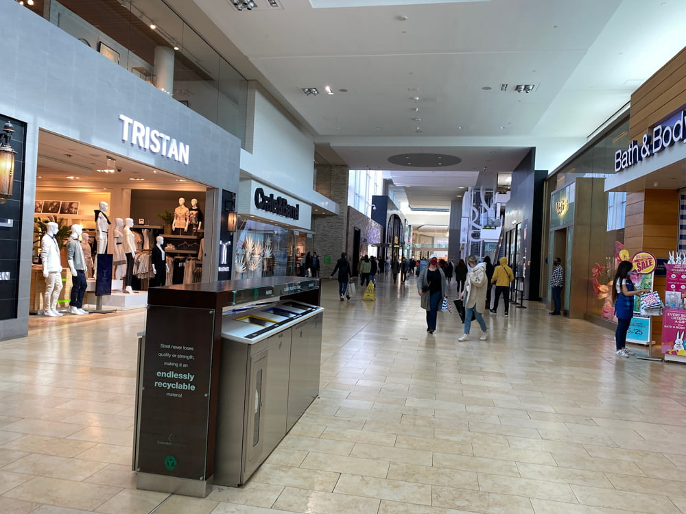 Tristan, Crate&Barrel, UGG and Bath & Body at Yorkdale