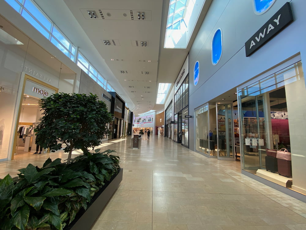 Away and Maje at Yorkdale (March 2021)